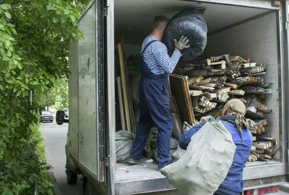 вывоз мусора офис