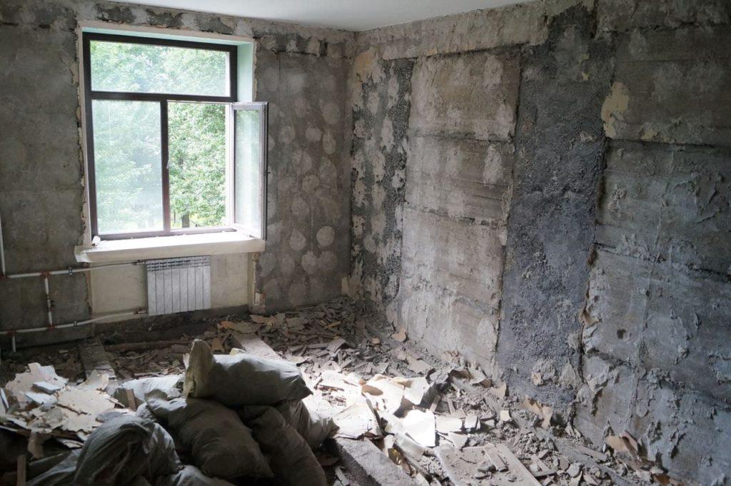 Демонтаж квартиры