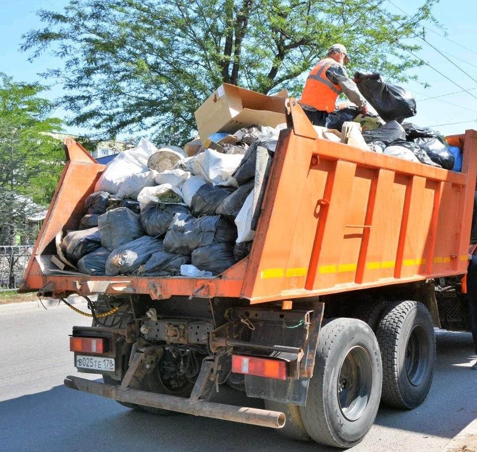 Вывоз строительного мусора в столице